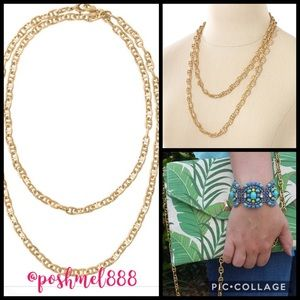 :: Stella & Dot Gold Versatile [ 2 in 1 ] Chain